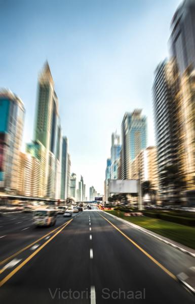 Crossing Dubai