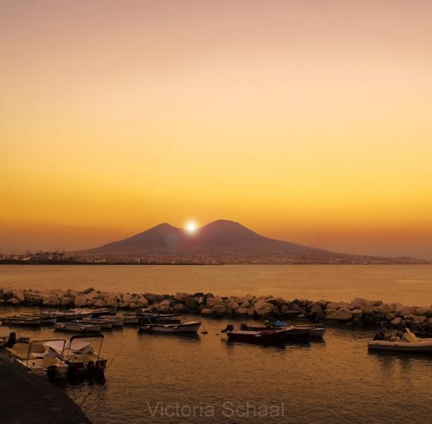 Sun over Vesuvius
