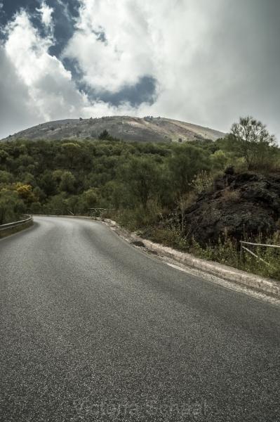 Road to Vesuvius
